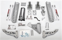 "McGaughy's Ford F-350 Lift Kit 2005-07 4WD 6"" Lift - Phase 1 (Silver Powder Coat)"