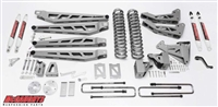 "McGaughy's Ford F-350 Lift Kit 2005-07 4WD 6"" Lift  - Phase 3 (Silver Powder Coat)"