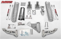 "McGaughy's Ford F-350 Lift Kit 2005-07 4WD 8"" Lift  - Phase 1 (Silver Powder Coat)"