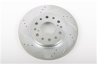 "13"" Big Brake Rotor (ea.) 6 LUG 1960-87 C-10, 2WD, 1/2 ton (cross-drilled) Passenger Side"