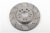"13"" Rotor, Front or Rear, 5 x 4.75 & 5 x 5, Driver Side **cross drilled** (each, 1 pc.)"