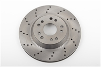 "13"" Rotor, Front or Rear, 5 x 4.75 & 5 x 5, Passenger Side  **cross drilled** (each, 1 pc.)"