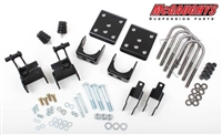 McGaughy's 2004-2008 FORD F-150 ALL CBS (REAR ONLY) 4 INCH DROP. FLIP KIT,FRONT HANGER BRACKETS, & SHOCK EXTENDERS.