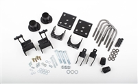 McGaughys 09-14 FORD F-150 Lowering Kit, 2WD, all cabs (front coil reloc,hanger,flip,bump stops,shock ext.)