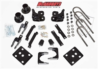 "McGaughy's 2015-2017 Ford F150 2WD 2/4"" Lowering Kit, Coil Relocators, Flip kit, lift hanger, shock extenders, carrier bearing relocator"
