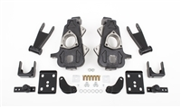 "02D24D (02-05 DODGE RAM 1500, 2/4.5"" SPINDLES,FLIP,SHACKLES,SHOCK EXT.,BUMP STOPS)"