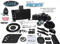 944175 Vintage Air Gen IV SureFit Complete System Kit 1973, 1974, 1975, 1976, 1977, 1978, 1979, 1980 Chevy / GMC Pickup Truck Without Factory AC