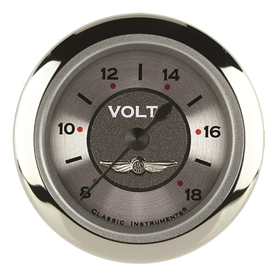 "CLASSIC INSTRUMENTS ALL AMERICAN 2 1/8"" VOLT FULL SWEEP"