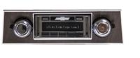 1967-1968 Camaro WOOD Dash USA-630 II High Power 300 watt AM FM Car Stereo/Radio with iPod Docking Cable
