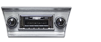 1966-1967 Chevelle Malibu USA-630 II High Power 300 watt AM FM Car Stereo/Radio with iPod Docking Cable
