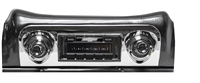 1959-1960 Chevrolet El Camino USA-630 II High Power 300 watt AM FM Car Stereo/Radio with AUX Input, USB Input, iPod Docking Cable. No modifications to original dash required.