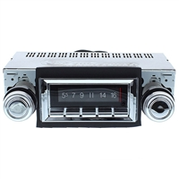 1968-1972 Ford Pickup Truck Custom Autosound 300 watt USA-740 AM FM Car Stereo/Radio with built-in Bluetooth, AUX Inputs, Color Change LCD Digital Display