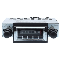 1973-1988 Chevrolet Pickup Truck Custom Autosound 300 watt USA-740 AM FM Car Stereo/Radio with built-in Bluetooth, AUX Inputs, Color Change LCD Digital Display