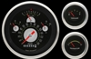 ch01aslf 57 chevy bel air authentic classic instruments gauge package fuel oil volts temp speedo tach