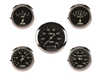 Classic Series Five Gauge Set, 3 3/8""