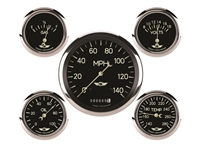 Classic Series Five Gauge Set, 4 5/8""