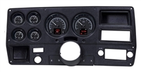 Dakota Digital 73-87 Chevy Pickup Customizable Gauge System Black HDX-73C-PU-K