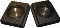 Custom Autosound UNDERCOVER II Upgrade Speaker Enclosures