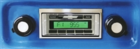 1967-1972 Chevrolet Pickup Truck Custom Autosound USA-230 AM/FM Stereo Radio 200 watts