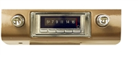 1940-1989 Classic Car/Truck/SUV Universal Fit 300 watt Custom Autosound USA-740 AM FM Car Stereo/Radio with built-in Bluetooth, AUX Inputs, Color Change LCD Digital Display (Please send us and Email to Specify your Year, Make Model when ordering)