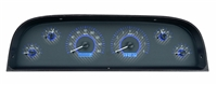 1960-1963 chevy truck dakota digital gauge package carbon fiber face