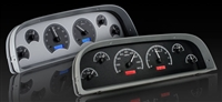 1960-1963 chevy truck dakota digital gauge package black face