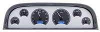 1960-1963 CHevy truck dakota digital gauge package silver face