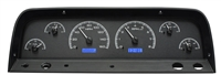 1964-1966 chevy truck dakota digital gauge package carbon fiber face