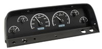 1964-1966 chevy truck dakota digital gauge package black face
