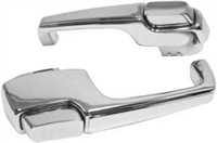 Dynacorn 67 -72 Chevy Truck Chrome Door Handles, Exterior
