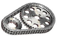 ROL-CS1000 Rollmaster - Timing Chain Set - Double Roller - SBC V8 262-400 - Red Series