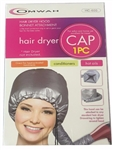 Soft hair dryer hood