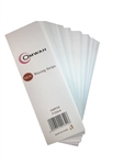 Package of 100 professional salon & spa waxing strips