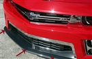 2012 2013 Camaro ZL1 Front Lip Spoiler Trim Classic Chrome Vinyl #102066 By American Car Craft