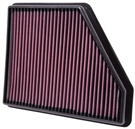 Replacement Air Filter by K&N #33-2434 fits 2010, 2011, 2012, 2013 & 2014 Camaro