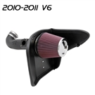 K&N AirCharger Cold Air Intake #63-3075 - Adds 15 hp fits 2010 & 2011 Camaro V6