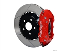2010 2011 2012 2013 Camaro SS W4A Rear Big Brake Kit For OE Parking Brake (4 piston, slotted, red caliper) #140-11270-R by Wilwood