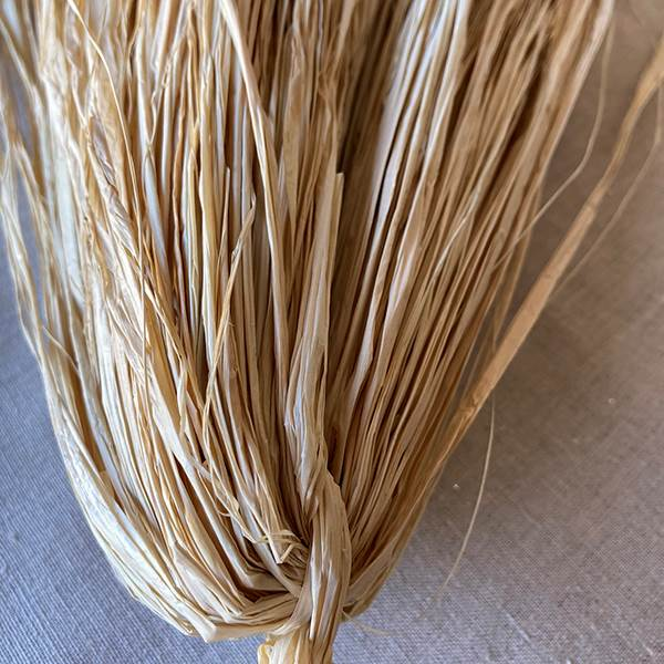 Raffia Trimmed Natural