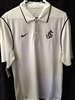 Nike White Men's Dri-Fit Polo
