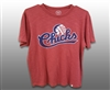 47 Brand Chicks Logo Retro Red Tshirt