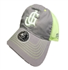 Grey/Neon Trucker Cap