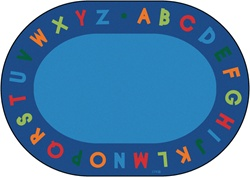Alphabet Circletime Rug - CFK25XX - Carpets for Kids