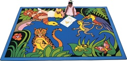 Rain Forest Rug - CFK48XX - Carpets for Kids
