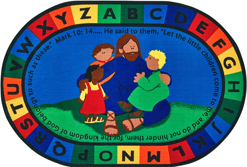Jesus Loves The Little Children Rug Cfk720xx Carpets
