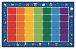 "Fun with Phonics Rug - Rectangle - 7'6"" x 12' - CFK9612 - Carpets for Kids"