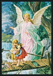 "Guardian Angel Rug - Rectangle - 5'4"" x 7'8"" - JC1424C - Joy Carpets"