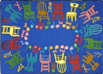 Musical Chairs Rug - JC1466XX - Joy Carpets