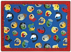 "Children of the World Rug - Round - 7'7"" - JC1491E - Joy Carpets"