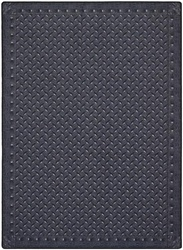 "Diamond Plate Rug - Steel Blue - Rectangle - 7'8"" x 10'9"" - JC1504D02 - Joy Carpets"