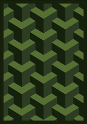 "Rooftop Wall-to-Wall Carpet - Emerald - 13'6"" - JC1505W09 - Joy Carpets"